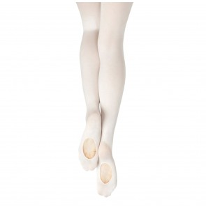 White Convertible Ballet Tights